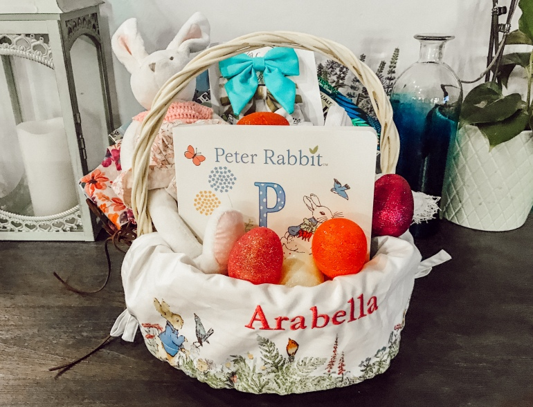 Some bunny loves you easter baskets the momma bun easter basket stuffer ideas for infants negle Images